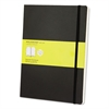 Moleskine Classic Softcover Notebook, Squared, 10 x 7 1/2, Black Cover, 192 Sheets