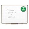Quartet Prestige Total Erase Whiteboard, 96 x 48, White Surface, Euro Titanium Frame