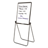Quartet Ultima Presentation Easel, 27 x 34, White Surface, Black Frame