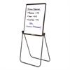 Ultima Presentation Easel, 27 x 34, White Surface, Black Frame