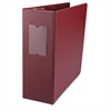 "Universal D-Ring Binder, 4"" Capacity, 8-1/2 x 11, Burgundy"