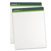 Universal Sugarcane Based Easel Pads, 1 Inch Rule, 27 x 34, White, 50 Sheets, 2/Pack