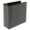 "Comfort Grip Deluxe Plus D-Ring View Binder, 4"" Capacity, 8-1/2 x 11, Black"
