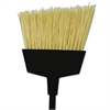 "O-Cedar Commercial Maxi-Angler Broom, Flagged PET Bristles, 56"" Handle, Black, 6/Carton"