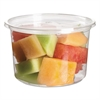 Renewable & Compostable Round Deli Containers - 16oz., 50/PK, 10 PK/CT