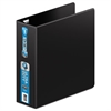 "Wilson Jones Ultra Duty D-Ring Binder, 3"" Cap, Black"
