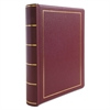 "Binder for Corporation Minutes, 2"" Cap, Red"