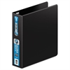 "Wilson Jones Ultra Duty D-Ring Binder, 2"" Cap, Black"