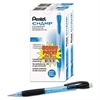 Champ Mechanical Pencil, 0.7 mm, Blue Barrel, 24/Pack