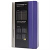 Professional Notebook, Plain, 8 1/4 x 5, Brilliant Violet Cover, 240 Sheets