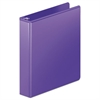 "Wilson Jones Heavy-Duty D-Ring View Binder w/Extra-Durable Hinge, 1 1/2"" Cap, Purple"