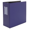 "Universal D-Ring Binder, 5"" Capacity, 8-1/2 x 11, Navy Blue"