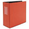 "D-Ring Binder, 5"" Capacity, 8-1/2 x 11, Red"