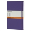 Moleskine Hard Cover Notebook, Ruled, 8 1/4 x 5, Brilliant Violet Cover, 240 Sheets