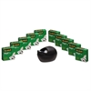 "Scotch Magic Tape Value Pack w/Black Karim Rashid Dispenser, 3/4"" x 1000"", 10/Pack"