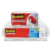 "Scotch 3850 Heavy-Duty Packaging Tape, 1.88"" x 54.6yds, 3"" Core, Clear, 6/Pack"