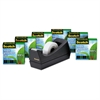 "Magic Greener Tape, with C38 Dispenser, 3/4"" x 900"", 6/Pack"