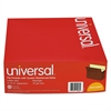 Universal 5 1/4 Inch Expansion File Pockets, Straight Tab, Letter, Redrope/Manila, 10/Box