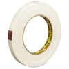 "High-Strength Filament Tape, Synthetic, 24mm x 55m, 3"" Core, Clear"