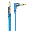flatOUT Audio Cable, Blue