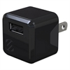 "superCUBE Flip Wall Charger, Black, Small, 1 1/2""l x 3 3/14""w x 7""h"