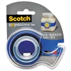 "Scotch Expressions Magic Tape w/Dispenser, 3/4"" x 300"", Dark Blue"