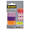 "Scotch Expressions Magic Tape, 3/4"" x 300"", Assorted Starburst, 3 Pk"