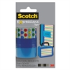 "Scotch Expressions Magic Tape, 3/4"" x 300"", Assorted Dots, 3/Pack"