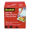 "Scotch Book Repair Tape, 4"" x 15yds, 3"" Core, Clear"