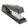 "Universal Classic Full-Strip Stapler, 15-Sheet Capacity, 3 1/2"" Throat, Black"