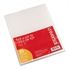 Project Folders, Jacket, Poly, Letter, Clear, 25/Pack