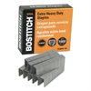 "Bostitch Heavy-Duty Premium Staples, 3/16"" Leg Length, 1000/Box"
