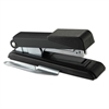 B8 PowerCrown Flat Clinch Premium Stapler, 40-Sheet Capacity, Black