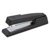 B400 Executive Half Strip Stapler, 20-Sheet Capacity, Black