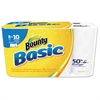 Basic Select-a-Size Paper Towels, 5 9/10 x 11, 1-Ply, 89/Roll, 8/Pack