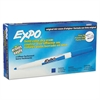 EXPO Dry Erase Markers, Fine Point, Blue, Dozen