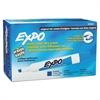 Dry Erase Markers, Chisel Tip, Blue, Dozen