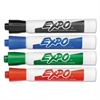 EXPO Dry Erase Markers, Chisel Tip, Assorted, 4/Set