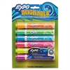 EXPO Washable Dry Erase Marker, Bullet Point, Assorted, 6/Set