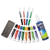 EXPO Dry Erase Marker/Eraser/Cleaner, Chisel/Fine, Assorted, 12/Set