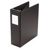 "Large Capacity Hanging Post Binder, 2"" Cap, Black"