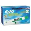 Dry Erase Markers, Chisel Tip, Green, Dozen