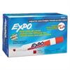 Dry Erase Markers, Chisel Tip, Red, Dozen