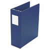 "Large Capacity Hanging Post Binder, 2"" Cap, Blue"