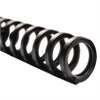 "ProClick Easy Edit Spines, 5/16"" Diameter, 45 Sheet Capacity, Black, 25/Pack"