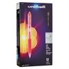 Signo Gel RT Roller Ball Retractable Gel Pen, Red Ink, Micro Fine, Dozen