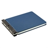 "Wilson Jones Raven Vinyl-Guarded Post Binder, 2"" Cap, 11 x 17, Light Blue"