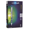 uni-ball Jetstream Ballpoint Stick Pen, 7mm, Blue Ink, Fine