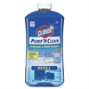 Clorox Pump 'N Clean Bathroom Cleaner, Rain Clean Scent, 24 oz Pump Bottle