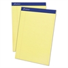 Ampad Mead Legal Ruled Pad, 8 1/2 x 11, Canary, 50 Sheets, 4 Pads/Pack